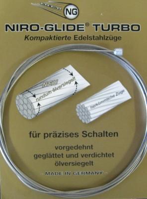 Câble de vitesse, acier inox 3000 mm ,1,1 mm diam., emball.indiv.