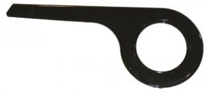 De woerd Garde-chaîne à un vantail noir à 40 dents p.dérailleur dans le moyeu