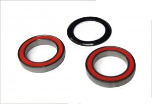 Bontrager RXL Centerlock Hybride Céramique Roulement avant et roue arrière Rebuild Kit