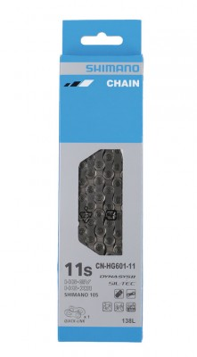 Shimano chaîne  CNHG601 Q 138 maillons 11 vit.,maillon.ferm. incl.
