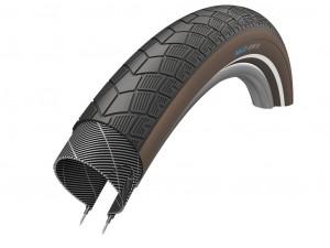 Xlc pneu  BigX 50-622, 28x2.0  noir/marron Reflex
