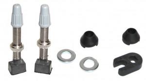 valve tubeless Caffe 70mm 2 unités (jeu) + clé de valve Presta
