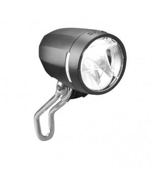 Busch&Müller éclairage AV LED b&m IQ Myc T senso plus 50 lux noir, + feu permanent et capteur