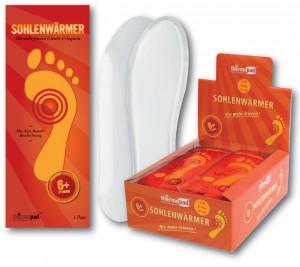 Thermopad chaufferettes semelles  t. XL 1 paire à partir de pointure 44