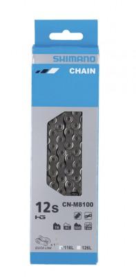 Shimano chaîne  M 8100 116 maillons 12vit.