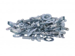 chain tensioner bag w. 10 pairs, galvanised, M6