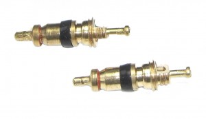 obus de valve p. Schrader court 2 unités en sachet poly