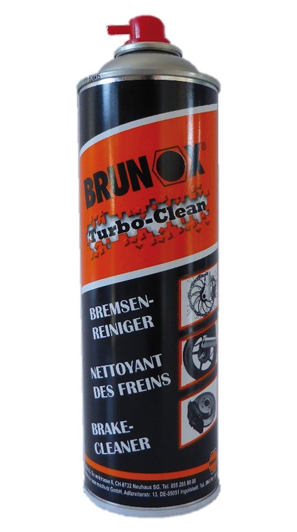 nettoyant freins brunox turbo clean 500 ml spray. Black Bedroom Furniture Sets. Home Design Ideas