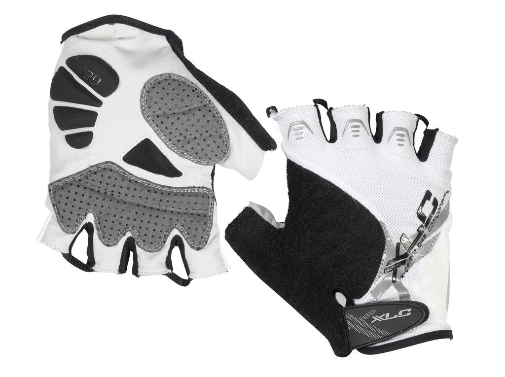 gants v lo xlc noir blanc. Black Bedroom Furniture Sets. Home Design Ideas