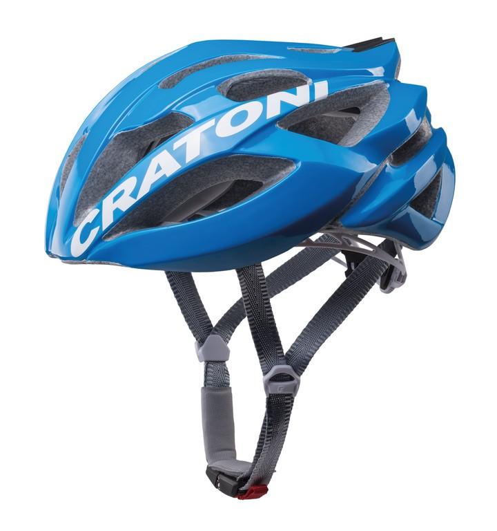 Cratoni C-Bolt vel. M/L (56-59cm) modrá/bílá lesklá