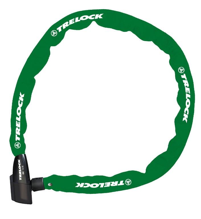 Trelock antivol chaîne 60cm, o 4mm bc 115/60/4, vert, sans